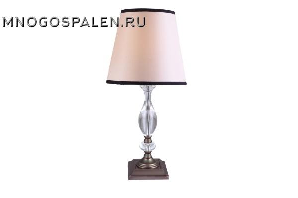 Настольная лампа Crystal Lux Palio TL1 купить в салоне-студии мебели Барселона mnogospalen.ru много спален мебель Италии классические современные
