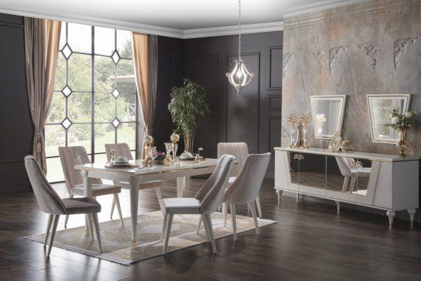 Гостиная Vitella купить в салоне-студии мебели Барселона mnogospalen.ru много спален мебель Италии классические современные
