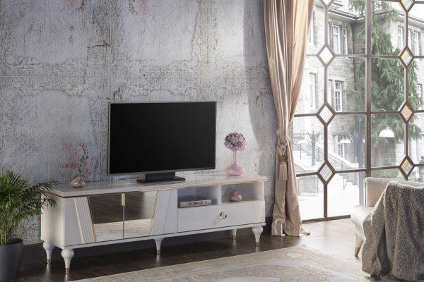 Тумба под ТВ Vitella купить в салоне-студии мебели Барселона mnogospalen.ru много спален мебель Италии классические современные