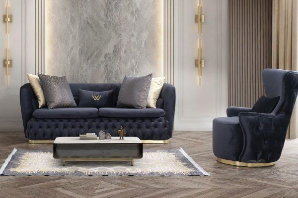 ДИВАН 3-М PICASSO купить в салоне-студии мебели Барселона mnogospalen.ru много спален мебель Италии классические современные