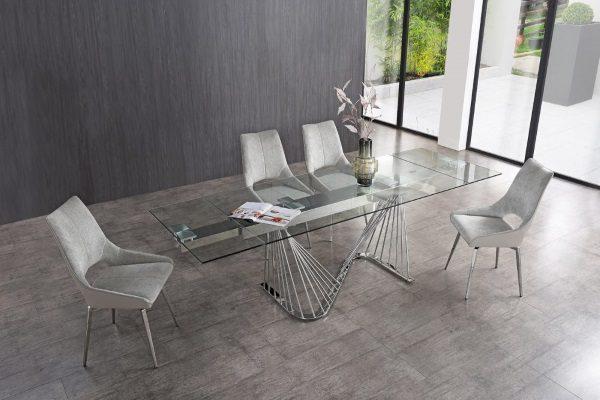 Стол DT9118GS купить в салоне-студии мебели Барселона mnogospalen.ru много спален мебель Италии классические современные